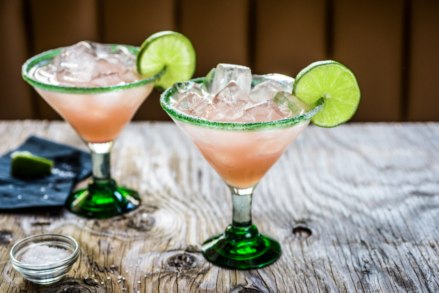 Rustic Pink Margarita with Lime