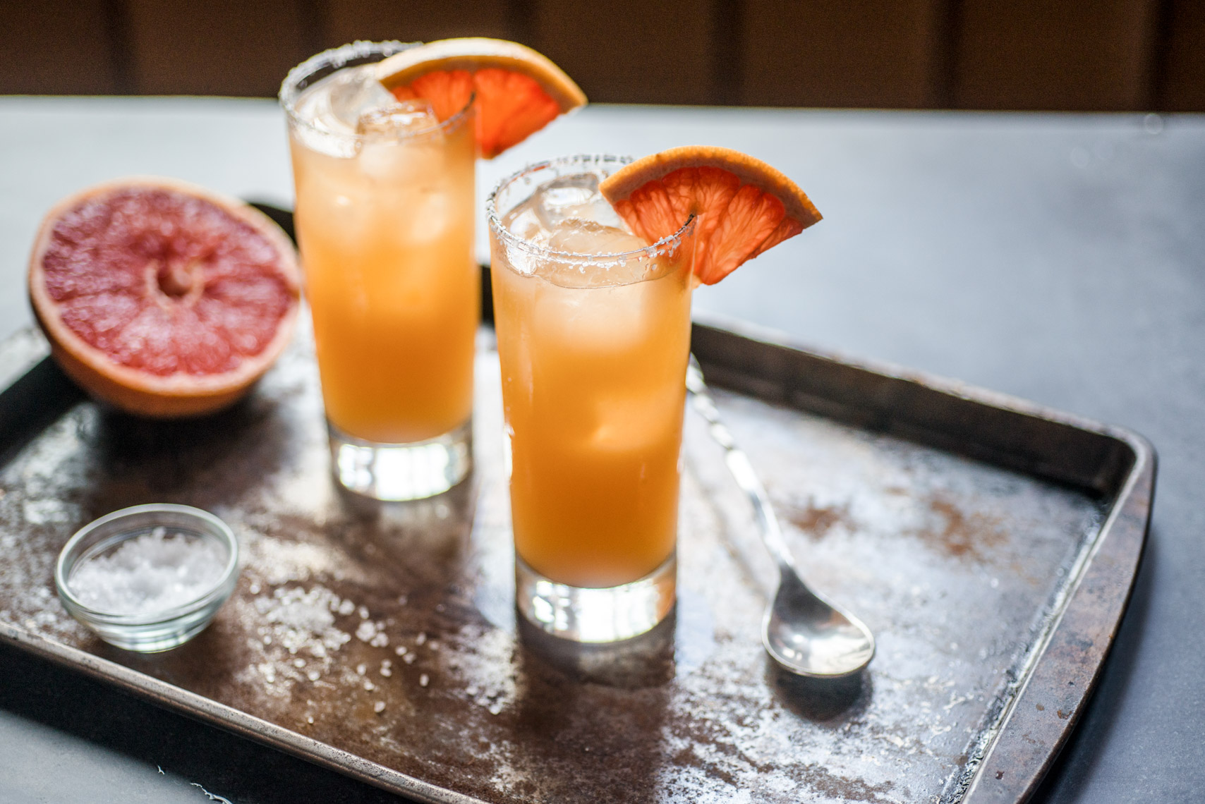 Blood Orange Tall Cocktail