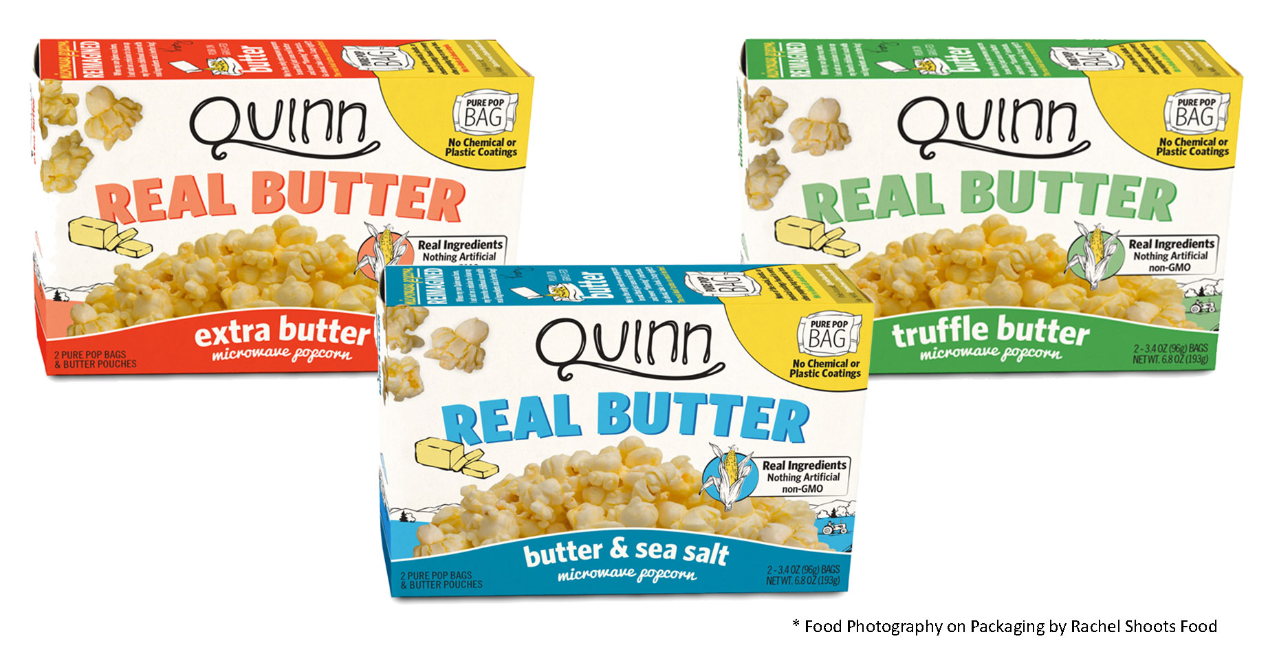 Quinns-Popcorn-Product-Lineup-Food-Photography-for-Packaging